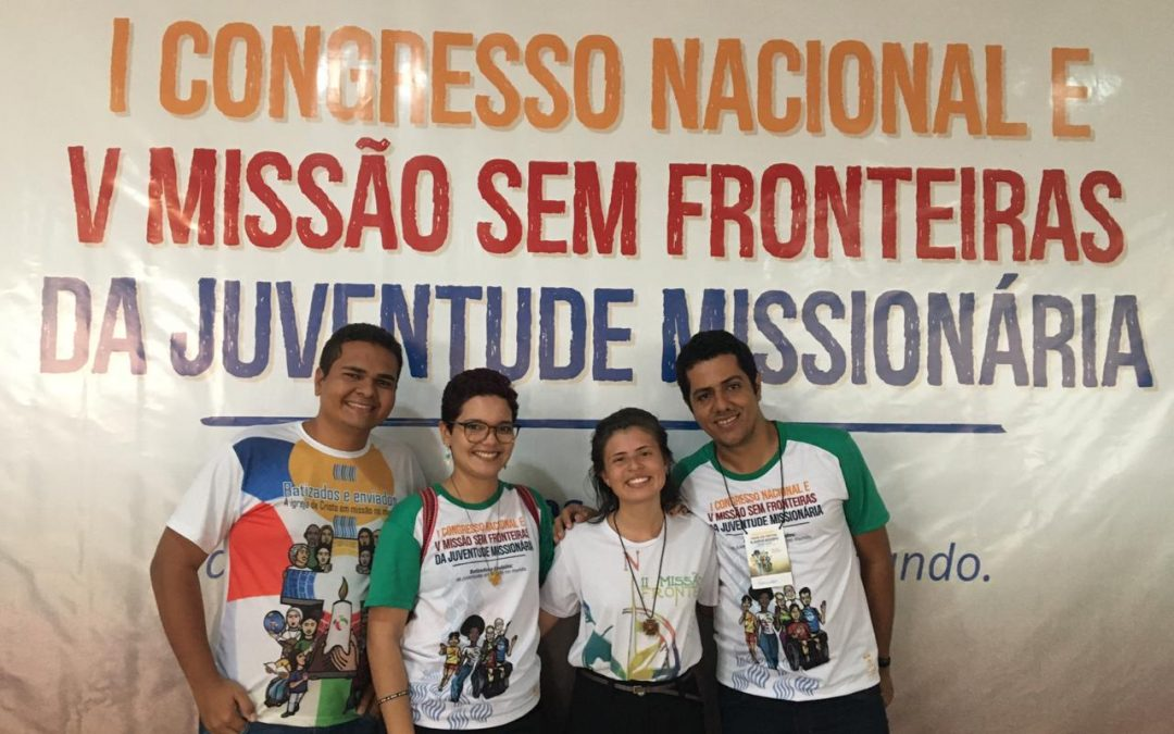 Jovens da PB participam de congresso Missionário no Distrito Federal