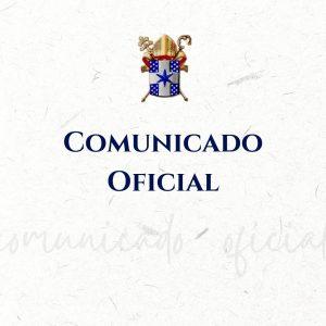 COMUNICADO: desligamento do Ministério Sacerdotal