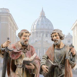 Pedro e Paulo, dois grandes Apóstolos