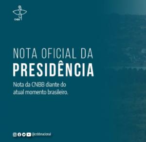 Nota da Presidência da CNBB