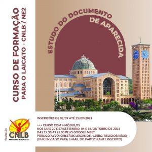 CNLB NE2 abre inscrições para curso gratuito sobre o Documento de Aparecida