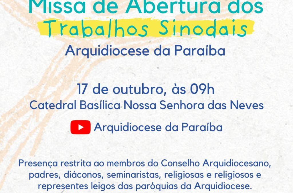 Sínodo dos Bispos 2021 / 2023: celebração de abertura da etapa diocesana neste domingo