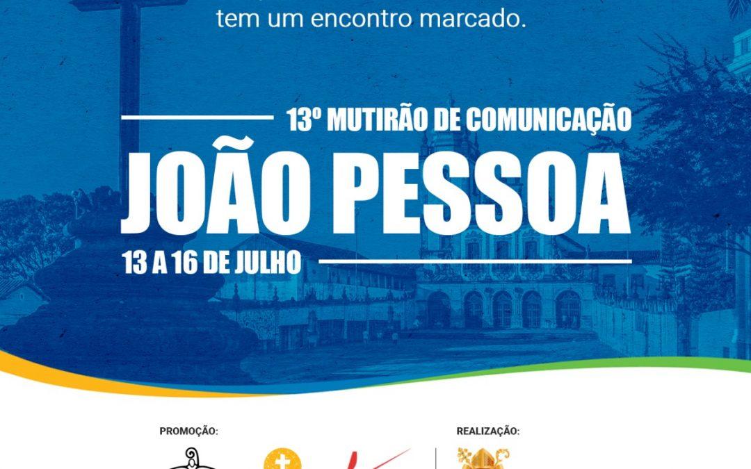 Arquidiocese da Paraíba sediará o 13º Mutirão Brasileiro de Comunicação